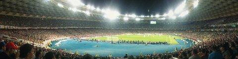 Панорама стадиона НСК Олимпийский (NSC Olimpiyskiy)