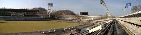 Панорама стадиона Шахтер Донецк (Shakhtar Stadium)