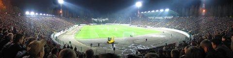 Панорама стадиона Украина во Львов (Ukraina stadium panorama)