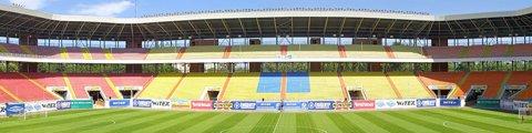 Панорама стадиона Юбилейный, Сумы (Yubilejniy stadium)