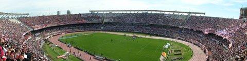 Панорама-2 стадиона Монументаль, Буэнос-Айрес (El Monumental)