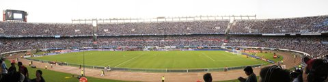 Панорама-3 стадиона Монументаль, Буэнос-Айрес (El Monumental)