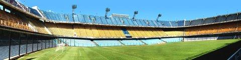Панорама-2 стадиона Бомбонера, Буэнос-Айрес (La Bombonera)