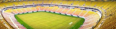 Панорама стадиона Арена Амазония, Манаус (Arena da Amazonia)