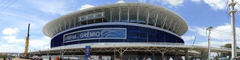Панорама стадиона Арена Гремио, Порту-Алегри (Arena do Gremio)