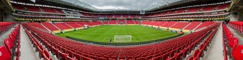 Панорама стадиона Арена Пернамбуку, Сан-Лоренсу-да-Мата (Arena Pernambuco)