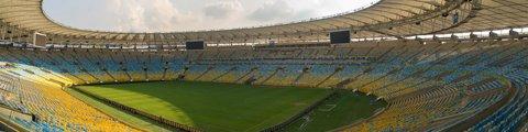 Панорама стадиона Маракана, Рио-де-Жанейро (Estadio do Maracana)