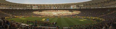 Панорама-2 стадиона Маракана, Рио-де-Жанейро (Estadio do Maracana)