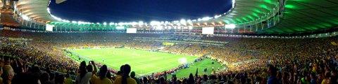 Панорама-3 стадиона Маракана, Рио-де-Жанейро (Estadio do Maracana)