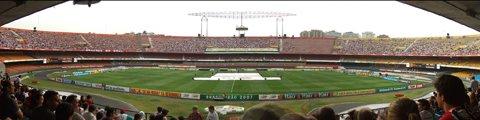 Панорама стадиона Морумби, Сан-Паулу (Estadio do Morumbi)