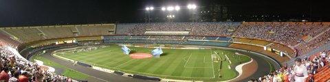 Панорама-2 стадиона Морумби, Сан-Паулу (Estadio do Morumbi)