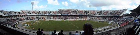 Панорама стадиона Жозе ду Регу Масиел, Ресифи (Estádio José do Rego Maciel)