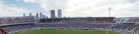 Панорама-2 стадиона Жозе ду Регу Масиел, Ресифи (Estádio José do Rego Maciel)