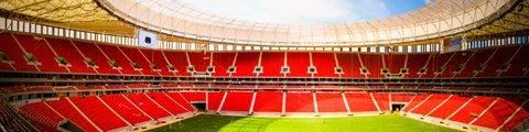 Панорама Национального стадиона имени Манэ Гарринчи, Бразилиа (Estadio Nacional Mane Garrincha)