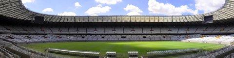 Панорама стадиона Минейран, Белу-Оризонти (Estadio Mineirao)