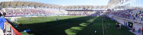 Панорама-2 стадиона Бисентенарио де Ла-Флорида, Ла-Флорида (Estadio Bicentenario de La Florida)