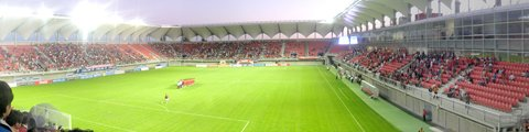 Панорама стадиона Мунисипал Нельсон Оярзун Аренас, Чильян (Estadio Municipal Nelson Oyarzun Arenas)