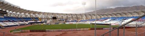 Панорама стадиона Региональ де Антофагаста, Антофагаста (Estadio Regional de Antofagasta)