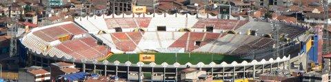 Панорама стадиона Инка Гарсиласо де ла Вега, Куско (Estadio Inca Garcilaso de la Vega)