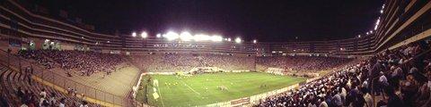 Панорама-2 стадиона Монументаль У, Лима (Estadio Monumental U)