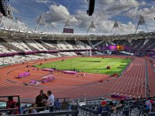 Фото Олимпийского стадиона в Лондоне (Olympic Stadium London)