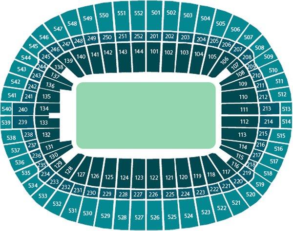 План схема стадиона Уэмбли,