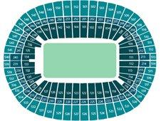 План схема стадиона Уэмбли, Лондон (Wembley Stadium seating plan)