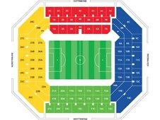 План схема стадиона Имтех Арена (Imtech Arena)