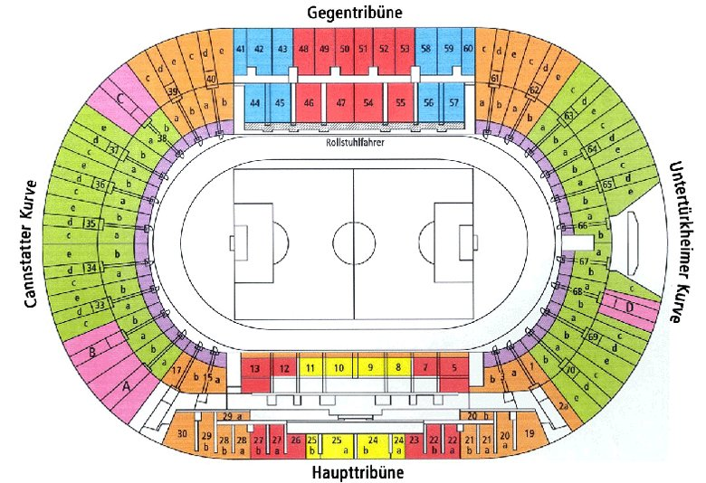 Allianz arena for Mercedes benz stadium interactive seating chart