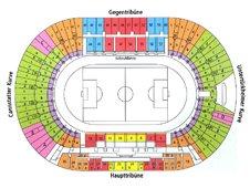 План схема стадиона Мерседес-Бенц Арена (Mercedes-Benz Arena)