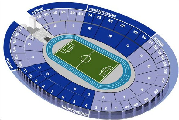 План схема Олимпийского
