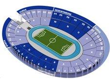 План схема Олимпийского стадиона в Берлине