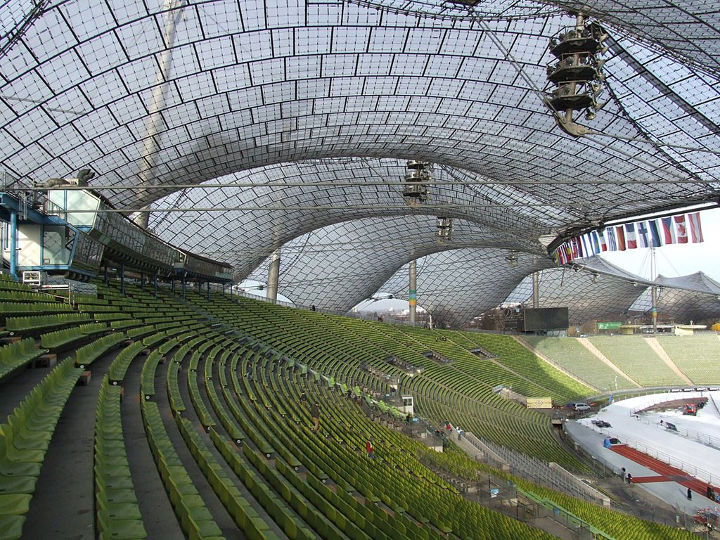 frei otto munich stadium Frei paul otto ( [ˈfʁaɪ ˈɔtoː] 31 may 1925 – 9 march 2015) was a german architect and structural engineer noted for his use of lightweight structures, in particular tensile and membrane structures, including the roof of the olympic stadium in munich for the 1972 summer olympics.