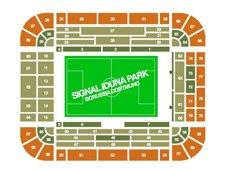 План схема стадиона Сигнал Идуна Парк