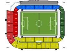 План схема стадиона Гролс Весте (seating plan De Grolsch Veste)