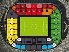 План схема стадиона Ювентус (juventus stadium seating plan)