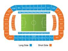 План схема стадиона Артемио Франки (stadio artemio franchi seating plan)