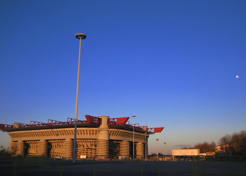 Панорама стадиона «Джузеппе
