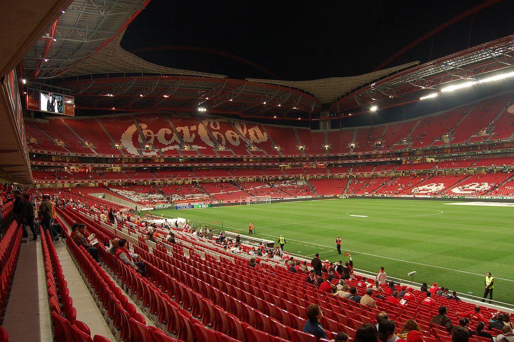 стадион бенфика в лиссабоне фото грибы любят