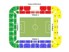 План схема стадиона Анжи-Арена
