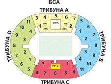 План схема стадиона Лужники (Luzhniki Stadium)