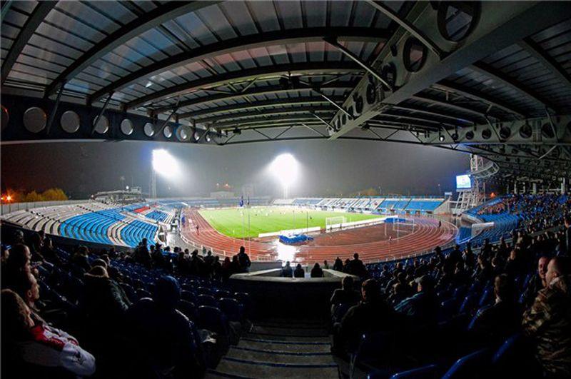 План схема стадиона «Шинник»