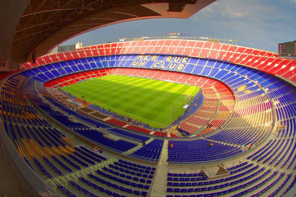 Фото стадиона «Камп Ноу»