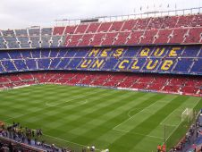 Стадион Камп Ноу (Camp Nou stadium) Фото: Carbayal