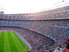 Стадион Камп Ноу (Camp Nou stadium) Фото: tasoskaimenakis