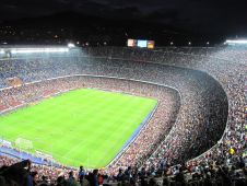 Стадион Камп Ноу (Camp Nou stadium) Фото: feduard