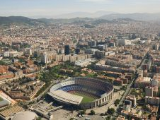 Стадион Камп Ноу (Camp Nou stadium) Фото: tafyr