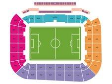 План схема стадиона Арена Львов (Arena Lviv seating plan)
