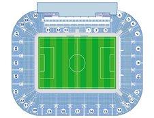 План схема стадиона Днепр-Арена (Dnipro-Arena seating-plan