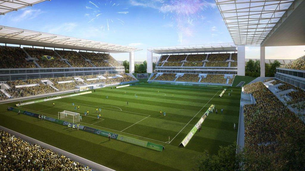 Бразильские футбкорты. Стадионы ЧМ-2014